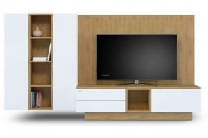 Модульная гостиная ЛДСП 501.24 - Мебельная фабрика «Феникс»