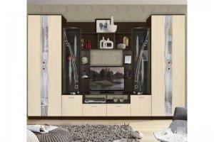 Стенка Мадрид 7 - Мебельная фабрика «Трио мебель»