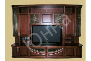 Стенка массив ясеня - Мебельная фабрика «ЮННА»