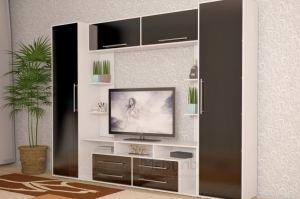 Стенка МДФ Гармония - Мебельная фабрика «Алтай-мебель»