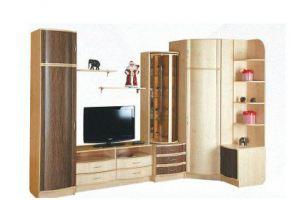 Стенка Милана 5 - Мебельная фабрика «Альфа-М»