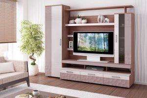 Стенка Мокко 1 - Мебельная фабрика «Анталь» г. Новосибирск
