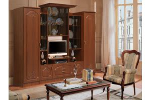 Стенка Наполеон комплектация 1 рис 1 - Мебельная фабрика «Аристократ»