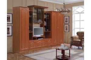 Стенка Наполеон комплектация 2 рис 1 - Мебельная фабрика «Аристократ»