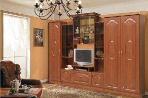 Стенка Наполеон комплектация 2 рис 2 - Мебельная фабрика «Аристократ»