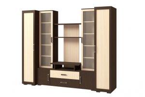 Стенка Омега 1 - Мебельная фабрика «Континент»