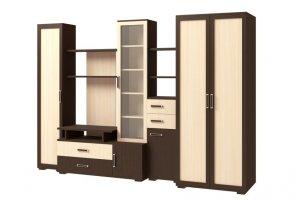 Стенка Омега 2 - Мебельная фабрика «Континент»