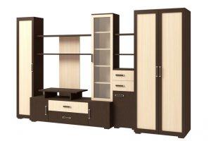 Стенка Омега 3 - Мебельная фабрика «Континент»