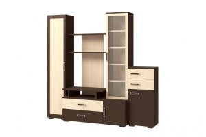 Стенка Омега 5 - Мебельная фабрика «Континент»