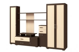 Стенка Омега 7 - Мебельная фабрика «Континент»