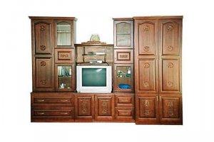 Стенка резная в гостиную - Мебельная фабрика «ШиковМебель», г. Муром