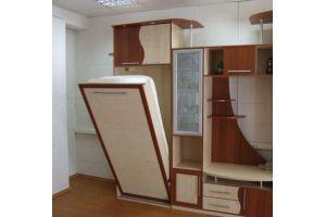 Стенка с откидной односпальной кроватью - Мебельная фабрика «Удобна»