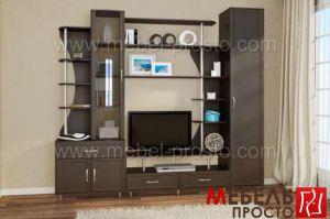 Стенка - Стиль 2 - Мебельная фабрика «МЕБЕЛЬ ПРОСТО»