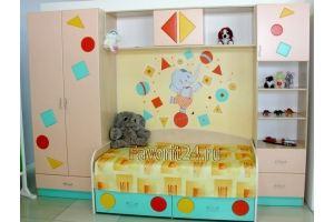 Стенка в детскую комнату - Мебельная фабрика «Фаворит»