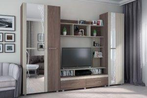 Стенка в гостиную Меркурий - Мебельная фабрика «БелДревМебель»