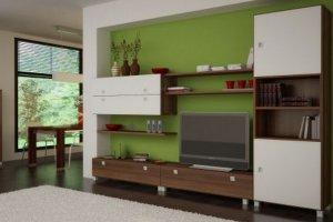 Стенка в гостиную - Мебельная фабрика «Мебель СаЛе»