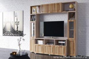 Стенка в гостиную Адажио - Мебельная фабрика «Фран»
