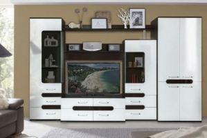 Стенка в гостиную Ариэна - Мебельная фабрика «Балтика мебель»