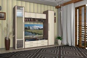 Стенка в гостиную Берта 1 - Мебельная фабрика «Мебель-маркет»