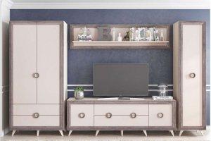 Стенка в гостиную Бруно - Мебельная фабрика «Ваша мебель»