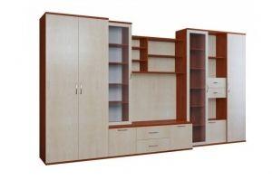 Стенка в гостиную Домино-1 - Мебельная фабрика «Балтика мебель»