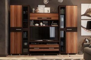 Стенка в гостиную Домино - Мебельная фабрика «КБ-Мебель»