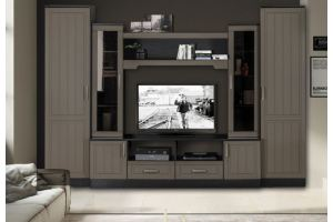 Стенка в гостиную Джелани Прованс - Мебельная фабрика «ДМ»