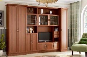 Стенка в гостиную Империя - Мебельная фабрика «МИГ»