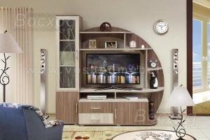 Стенка в гостиную Катюша-1 - Мебельная фабрика «Восход»