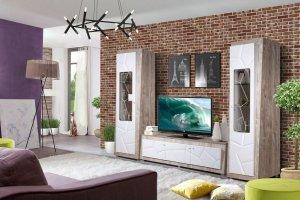 Стенка в гостиную Кензо КМК 0674 - Мебельная фабрика «Калинковичский мебельный комбинат»
