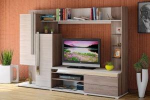 Стенка в гостиную Латте 3/02 - Мебельная фабрика «ARC мебель»