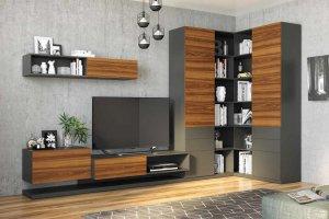 Стенка в гостиную Монако - Мебельная фабрика «Эстель»