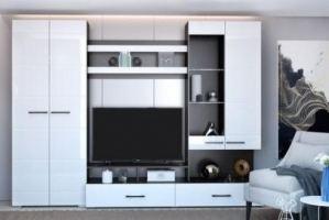 Стенка в гостиную Ненси-1 - Импортёр мебели «ТМК»