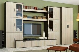 Стенка в гостиную Пекин - Мебельная фабрика «Д.А.Р. Мебель»