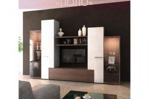 Стенка в гостиную Поло - Мебельная фабрика «Регина»