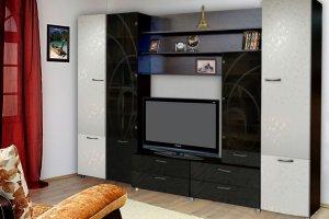 Стенка в гостиную Самба 3 - Мебельная фабрика «С-Корпус»