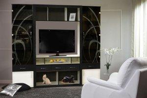 Стенка в гостиную Самба 4 - Мебельная фабрика «С-Корпус»