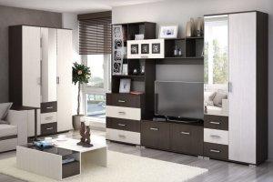Стенка в гостиную София - Мебельная фабрика «БелДревМебель»