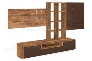 Стенка в гостиную Solo Quadro - Мебельная фабрика «Мебель-Москва»