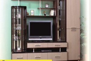 Стенка в гостиную Вика - Мебельная фабрика «VLAST»