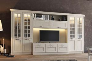 Стенка в классическом стиле - Мебельная фабрика «MipoLine»