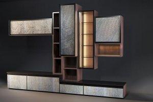 Стенка Woodstone в гостиную - Мебельная фабрика «KUCHENBERG»