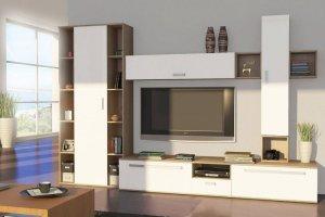 Стильная белая гостиная - Мебельная фабрика «Святогор Мебель»