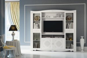 Стильная гостиная флора - Мебельная фабрика «Кураж»