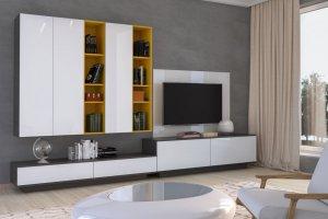 Стильная гостиная Фреш - Мебельная фабрика «Эстель»