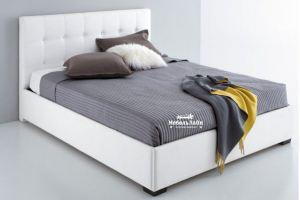 стильная и современная модель кровати из экокожи Kosmo - Мебельная фабрика «МебельЛайн»