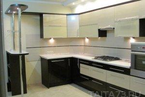 Стильная комбинированная кухня - Мебельная фабрика «Таита»