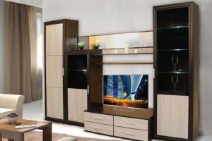 Стильная компактная гостиная  Модерн-12 - Мебельная фабрика «Сибирь»