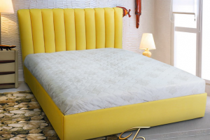 Стильная кровать Бьянка - Мебельная фабрика «ULMATRASI»