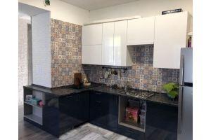 Стильная кухня черно-белая - Мебельная фабрика «Гранд Мебель»